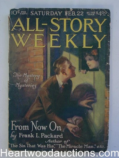 """All Story Weekly"" Februay 22 1919"