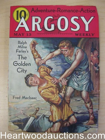 """Argosy"" May 13 1933 Ralphe Farley-The Golden City"