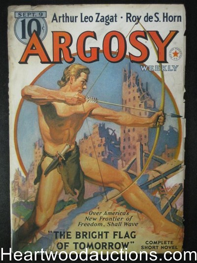 """Argosy"" September 9 1939 Tarzan Like Cover"