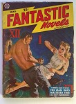 Fantastic Novels Mar  1950 Saunders GGA Cvr; Max Brand; Ray Cummings