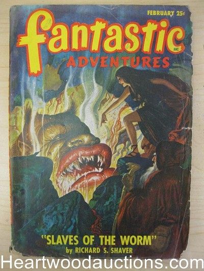 """Fantastic Adventures"" February 1940"