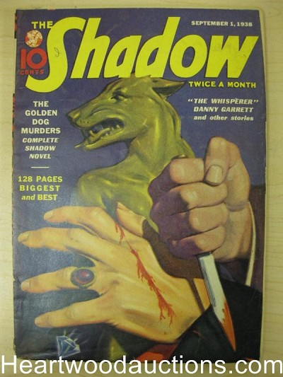"""The Shadow"" Sept 1st 1938"