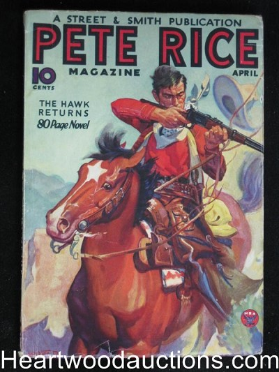 """Pete Rice"" April 1934"