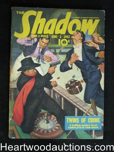 """The Shadow"" June 1 1942 Nice Shape"