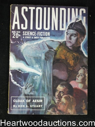 """Astounding Science Fiction"" March 1937"