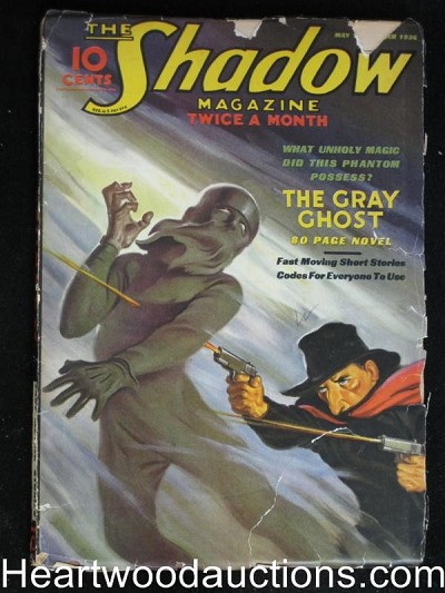 """The Shadow"" May 1st 1936 Gray Ghost Novel"