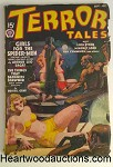 Terror Tales Sep 1938 Bondage Whipping Cvr, Arthur J. Burks, Ray Cummings