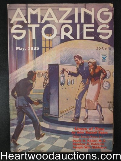 Amazing Stories May 1935- High Grade