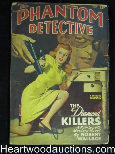 Phantom Detective May 1948 Robert Wallace