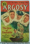 Argosy Jan 30, 1937  Burroughs - Seven Worlds to Conquer 7/6