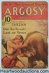 Argosy Mar 04, 1933 Burroughs Lost on Venus Cvr