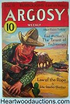 Argosy Mar 11, 1933 Burroughs Lost on Venus 2/7, E.S. Gardner