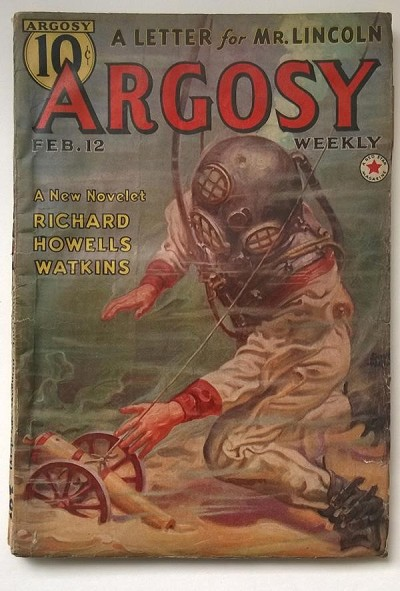 Argosy Feb 12 1938 Edgar Rice Burroughs - Carson of Venus 6/6