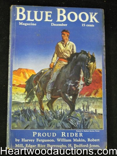 Blue Book Dec 1935 Burroughs Tarzan Immortal Men pt 3