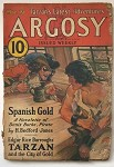 Argosy Mar 19 1932 Burroughs Tarzan and the City of Gold 2/6