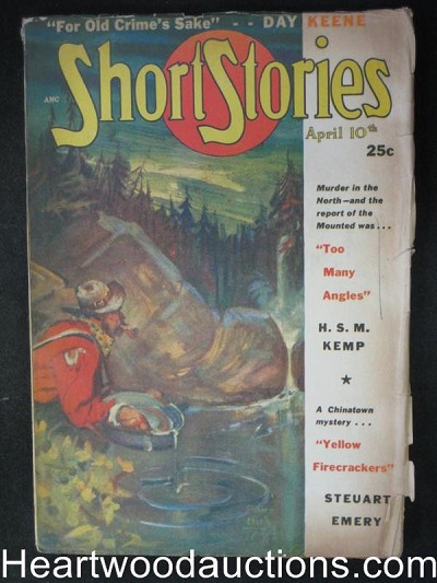 "Short Stories Apr 10, 1948 - Day Keene""For old times sake"""