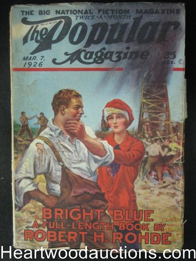Popular Mar 07, 1926 - Striking oil classic cover
