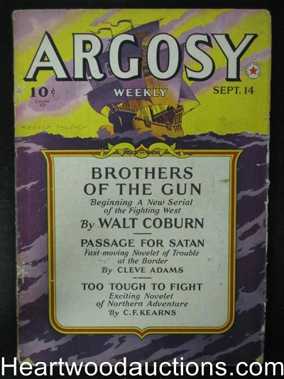 Argosy Sep 14 1940 Minions of Mercury