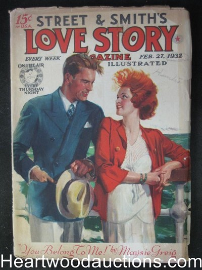 Love Story Feb 27, 1932 - A Moment of Madness