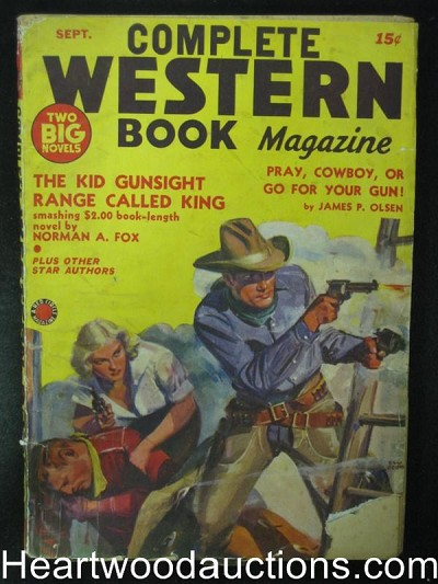 Complete Western Book Sep 1940 Red Circle Pulp