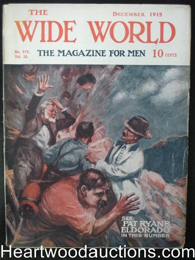 The Wide World Dec 1915 Explosion Cover