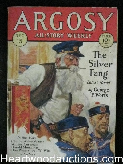 "Argosy Dec 15, 1928 - George Worts""The Silver Fang"""
