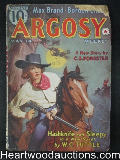 Argosy May 14, 1938   Rozen,Hashknife Hartley,Brand