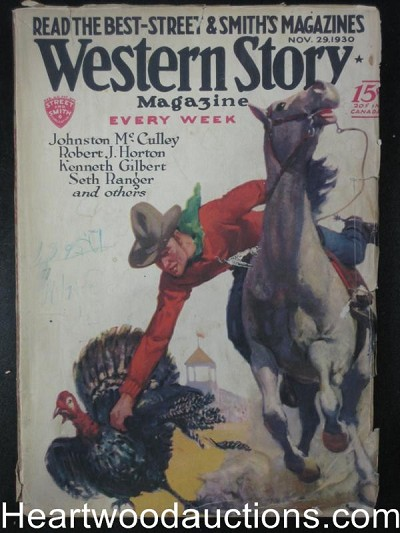 Western Story Nov 29 1930 Johnston McCulley