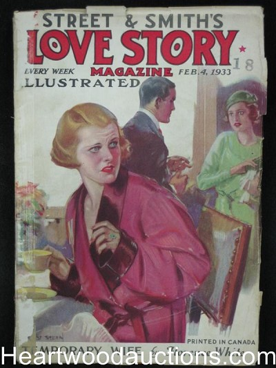 Love Story Feb 4 1933 Temporary Wife