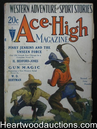 Ace-High June 1928 Billy the kid, HBJ