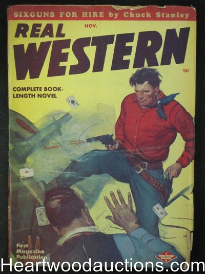 Real Western Nov 1947  Sixgun for Hire