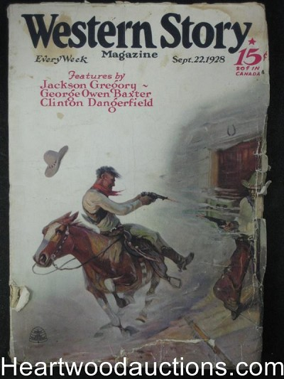 Western Story Sep 8 1928  Max Brand