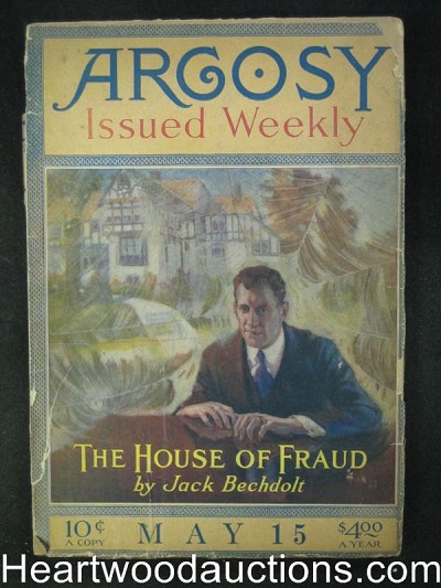 Argosy May 15, 1920  Willian Merriam Rouse, The house of fraud