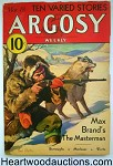 Argosy Mar 18, 1933  Edgar Rice Burroughs - Lost on Venus 3/7 - High Grade