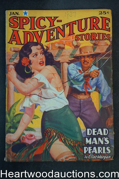 Spicy Adventure Jan 1937 Robert E. Howard story