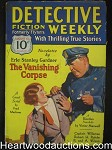 Detective Fiction Weekly Aug 15, 1931 Erle Stanley Gardner Cvr story
