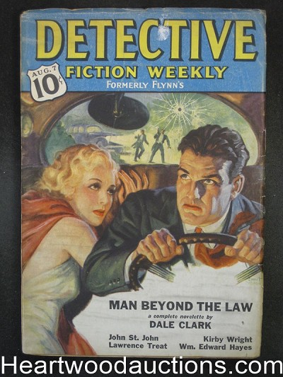 Detective Fiction Weekly Aug 7, 1937