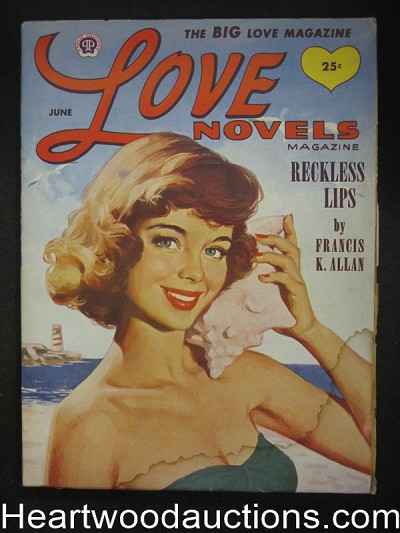 Love Novels Jun 1954 - High Grade