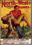 North-West Romances Winter 1949 Awesome Saunders GGA Cvr