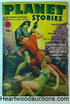 Planet Stories Fall 1942 Leydenfrost Cvr, Henry Kuttner, Frank Paul Gallun