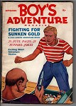 Boy's Adventure Sep 1936 #1 Uncommon pulp