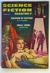Science Fiction Quarterly Feb 1957 Emsh Cover