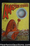 Amazing Stories Apr 1929 Frank Paul Cover