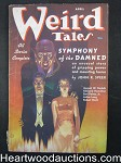 Weird Tales Apr 1937 Virgil Finlay Cover, Bloch Derleth, Hamilton