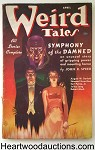 Weird Tales Apr 1937 Virgil Finlay Cover; Bloch; Derleth; Hamilton