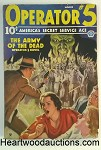 Operator #5 Mar 1935 Zombie Army Cover by John Howitt; G.T. Fleming-Roberts - High Grade
