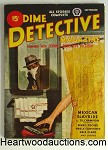 Dime Detective Sep 1944 D.L. Champion, Dale Clark, Bruno Fischer, Woman in shower - High Grade
