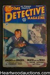 Dime Detective Jan 1, 1934 pulp Frederick Nebel- Cardigan, Oscar Schisgall