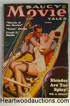 Saucy Movie Tales Oct 1936 Norman Saunders GGA headlights Cvr, Marcia of the Movies