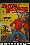 10 Story Western Oct 1950 Norman Saunders cover, Frank P. Castle, Harrison Colt